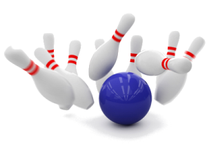 Bowling w/Ben & Cathy Sharpe @ Brunswick Lanes | Belle Vernon | Pennsylvania | United States