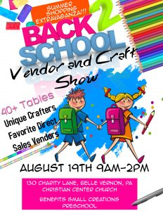 Vender and Craft show @ Christian Center Church | Belle Vernon | Pennsylvania | United States