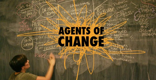 Be the agent of change – stepping out of our comfort zone