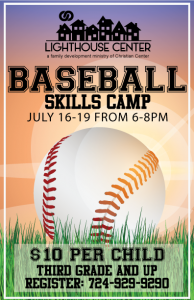 Baseball Skills Camp 2018 @ Lighthouse Family Center | Belle Vernon | Pennsylvania | United States