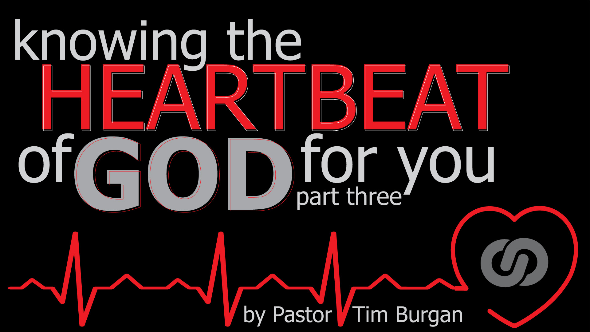 Knowing the heartbeat of God for you! Part 3