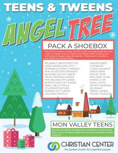 Angel Tree Shoebox Collection @ Christian Center Church | Belle Vernon | Pennsylvania | United States