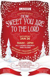 Ladies' Winter Event @ Christian Center Church | Belle Vernon | Pennsylvania | United States