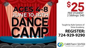 Dance Camp 2019 @ Christian Center Church | Belle Vernon | Pennsylvania | United States