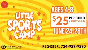Little Sports Camp 2019 @ Christian Center Church | Belle Vernon | Pennsylvania | United States