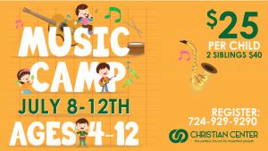 Music Camp 2019 @ Christian Center Church | Belle Vernon | Pennsylvania | United States
