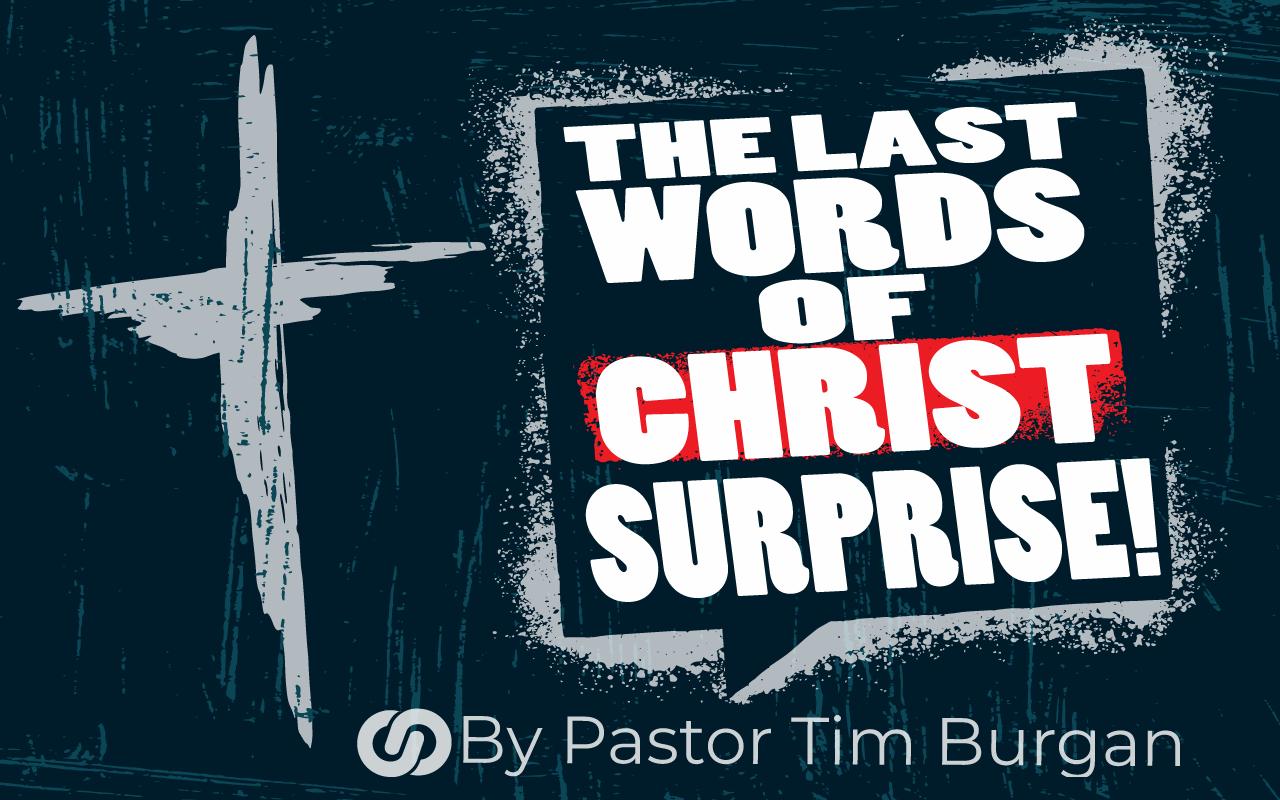 The Last words…Surprise!