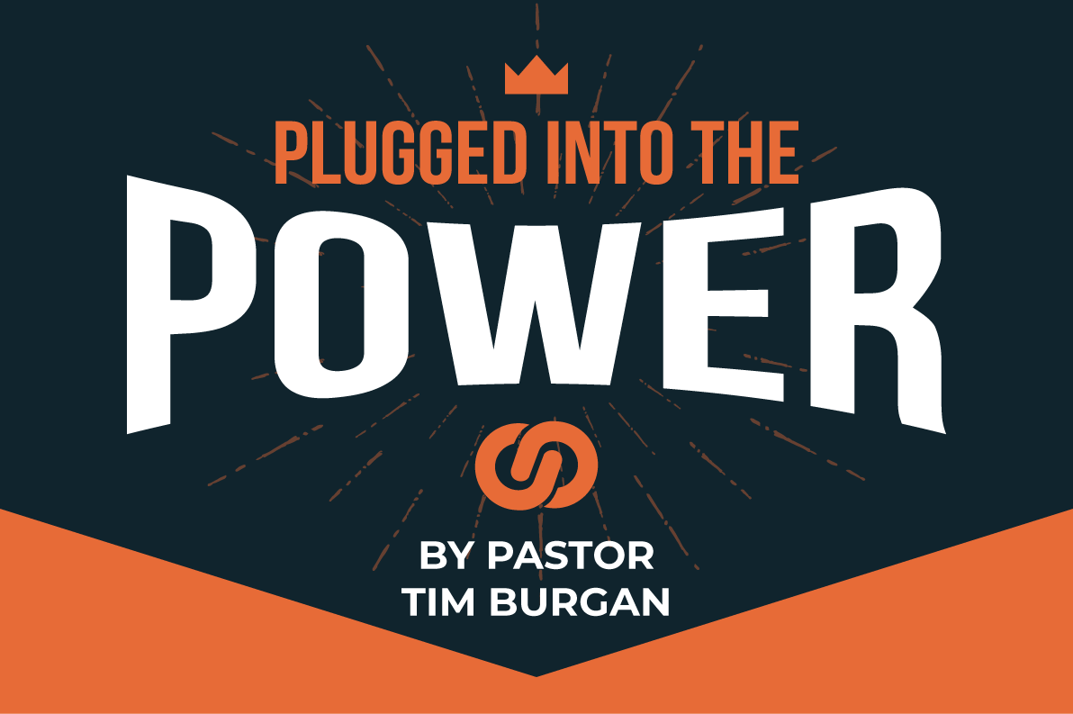 Plugged into the power