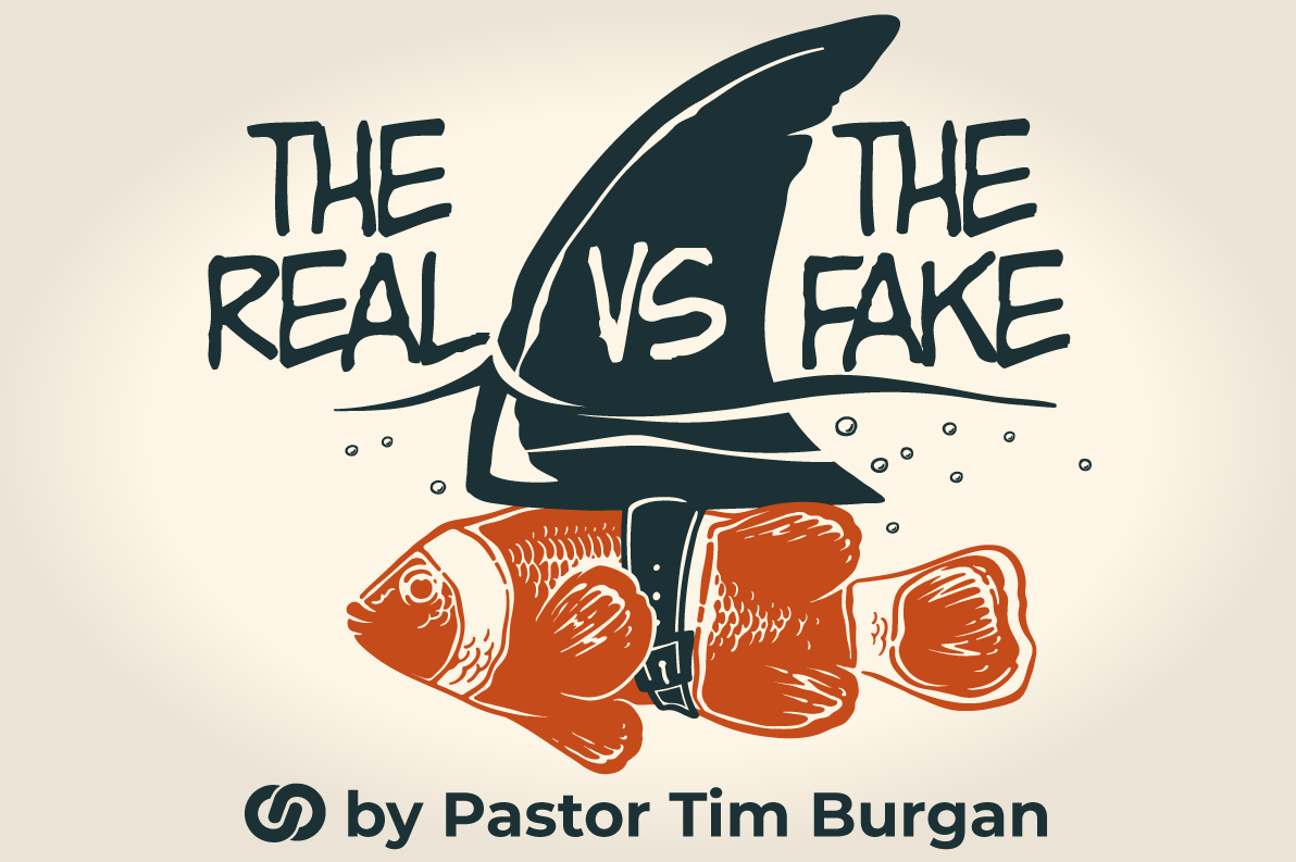 The real versus the fake!