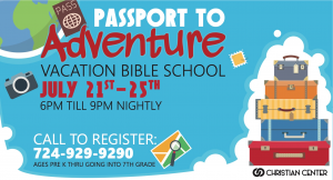 VBS 2019 - Passport to Adventure @ Christian Center Church | Belle Vernon | Pennsylvania | United States