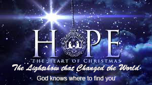 Season of Hope Part 2 – The light show that changed the world!