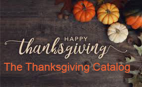 The Thanksgiving Catalog