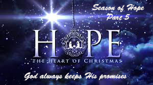 God always keeps His promises – Season of hope part 5