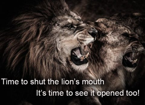 It's time to shut the Lion's mouth