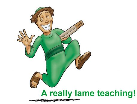 A really lame teaching!
