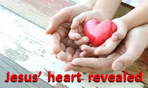 Jesus' heart revealed
