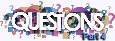 Questions Part 4 – Apostles and Prophets